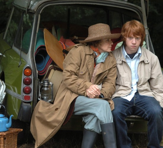 Driving Lessons - Rupert Grint & Julie Walters & car