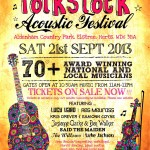 folkstock poster