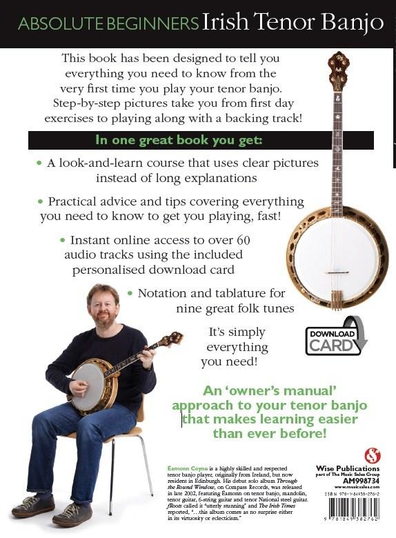 Absolute Beginners Irish Tenor Banjo back cover