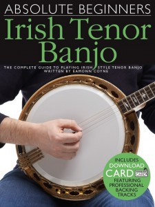 Absolute Beginners Irish Tenor Banjo front cover