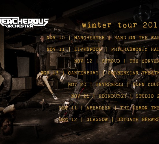 Treacherous Orchestra Nov-Dec 2015 tour